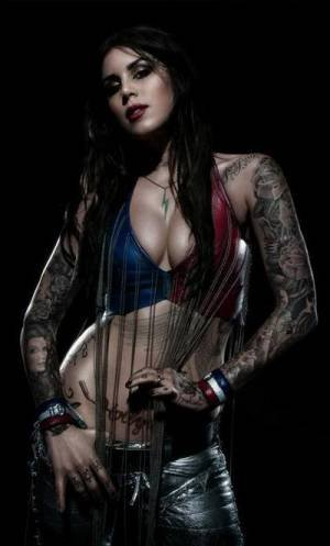 STATE OF THE ART: KAT VON D INTERVIEW FOR INKED MAGAZINE