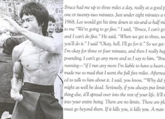 Bruce Lee.  No Limits.