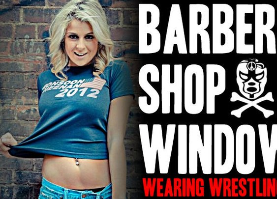 BarberShopWindow.com ::: Wearing Wrestling Shirts Is Cool Again