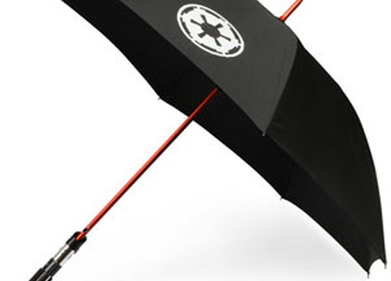 ThinkGeek :: Star Wars Lightsaber Umbrellas