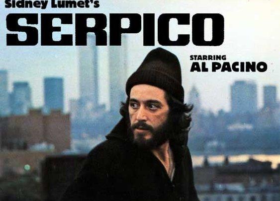 Pacino as Serpico...