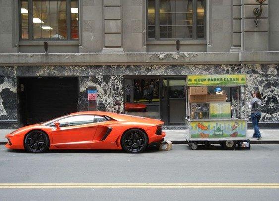 Lamborghini Hot Dog Cart