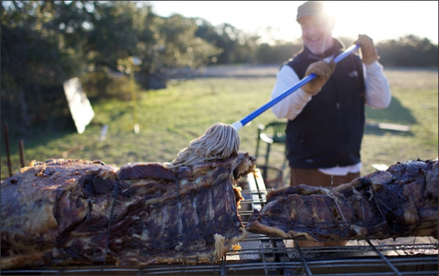 How to Roast a Whole Steer | TM Daily Post