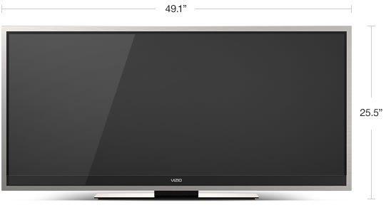 XVT 3D Cinemawide™ RAZOR LED™ Smart TV  | VIZIO
