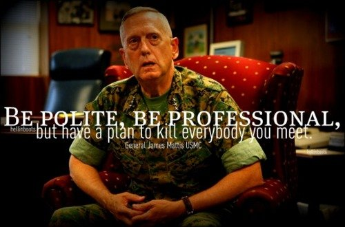 General James M. Mattis