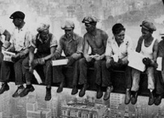 The Story of Iron Workers   The Fall Protection Blog