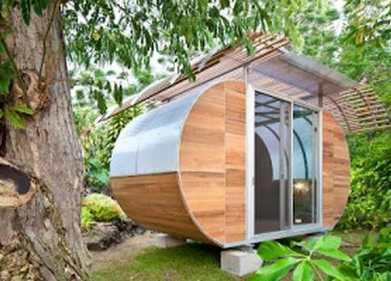 Bellamo Architects Present:  'The House Arc' – A Cross Between An Old Airstream and A REALLY Cool Shed | blurppy
