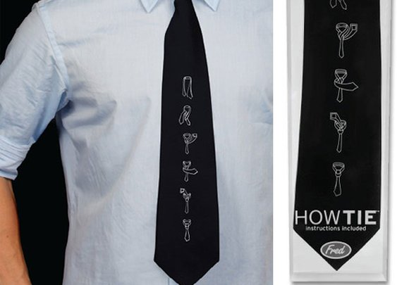 How Tie Comes With Instructions