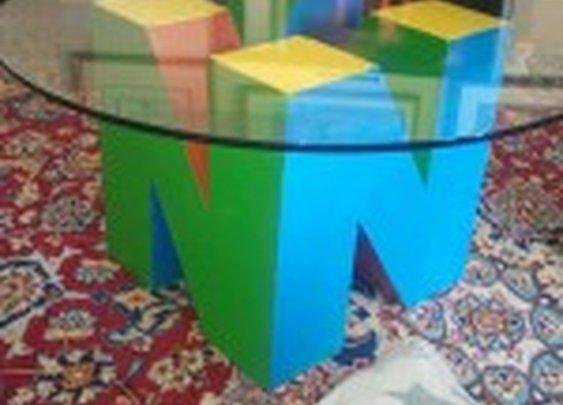 Awesome Nintendo 64 Coffee Table [Pic]