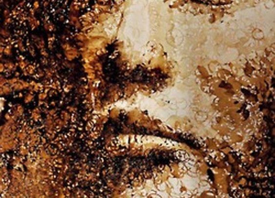 Insane Coffee Stain Portrait