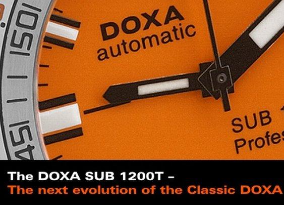 Doxa SUB 1200T Professional Divers Watch