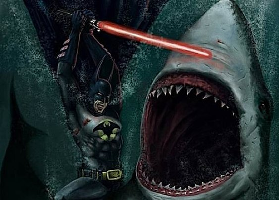 Batman vs. Jaws
