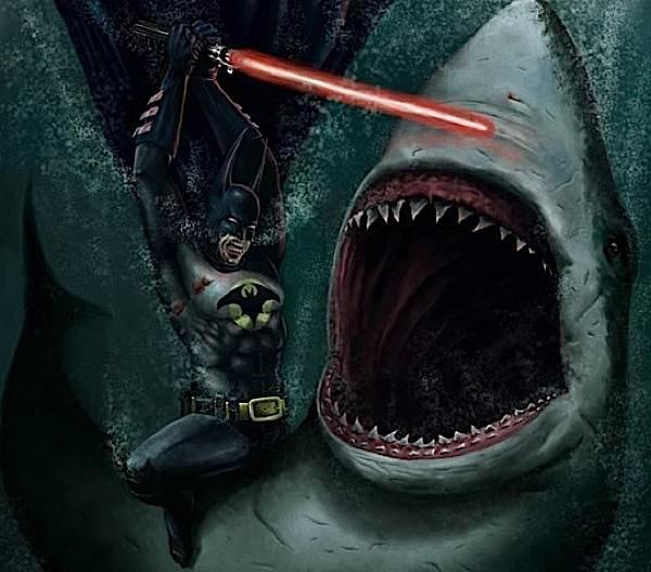Batman vs. Jaws