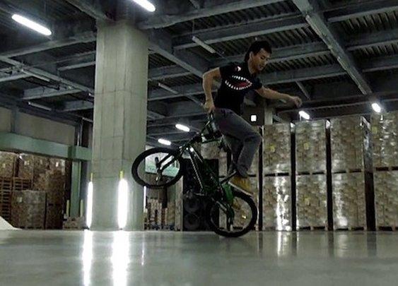 Turntable Rider – BMX DJ'ing