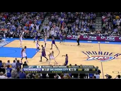 Russell Westbrook's NASTY alley-oop from Kevin Durant      - YouTube