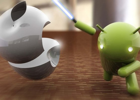 Another Wallpaper – Apple Sliced by Android Jedi  : MobileAttack.com