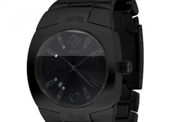Vestal Watch Black on Black on Black