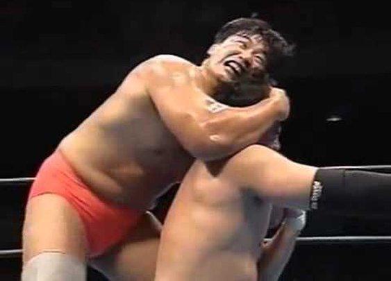 AJPW 25.10.1995 - Mitsuharu Misawa vs Kenta Kobashi