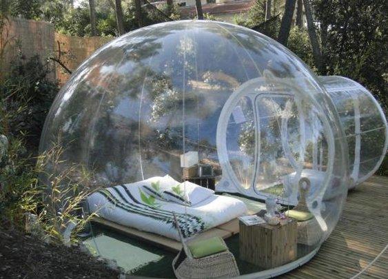 Innovative Transparent Bubble Tents - My Modern Metropolis