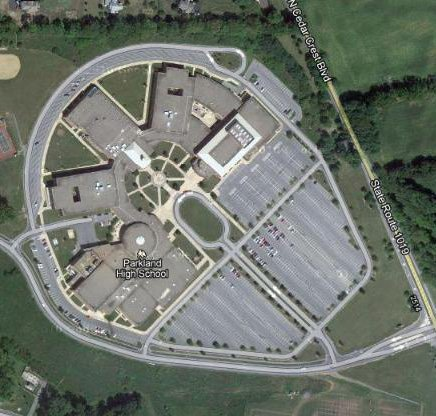 School's Aerial Photo Resembles The Millennium Falcon