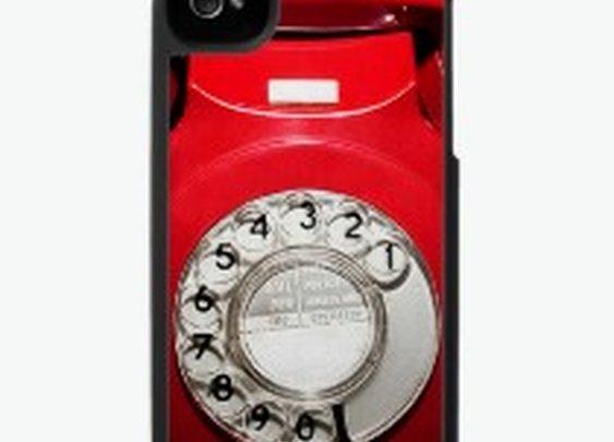 Retro UK telephone i-phone case