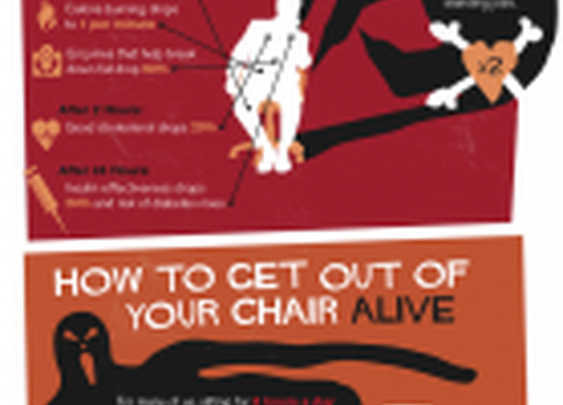 Sitting Is Killing You [Infographic] - How-To Geek