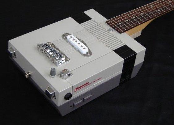 Custom NES Guitar from GetLoFi.