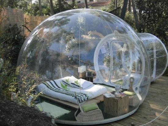 Innovative Transparent Bubble Tents