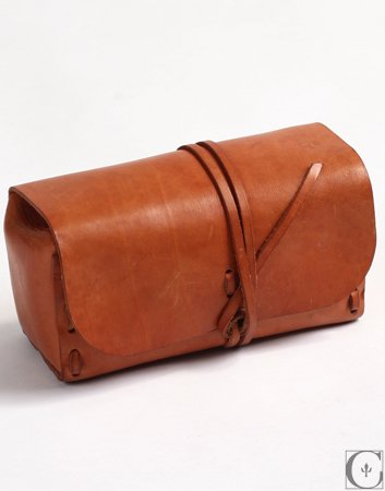 Kenton Sorenson Leather Natural Leather Dopp Kit