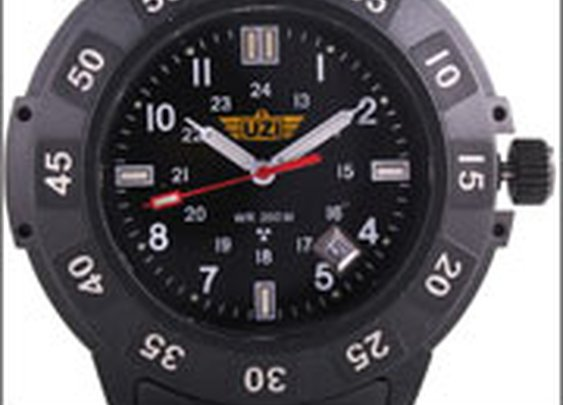 Uzi Protector Watch w/ Tritium Self-illuminating Display