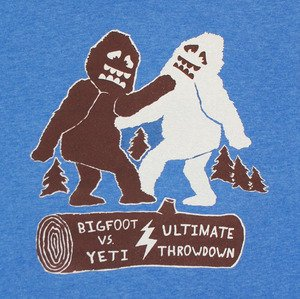 Bigfoot vs Yeti