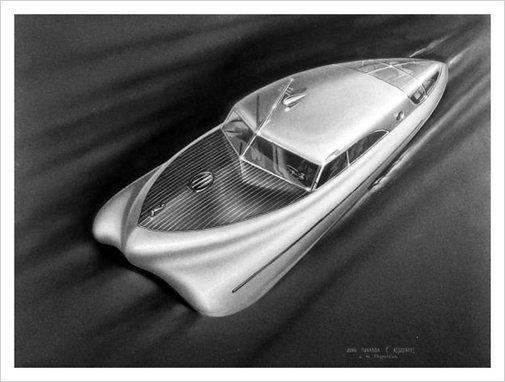 Futuristic Industrial Design Show, 1944 / Aqua-Velvet