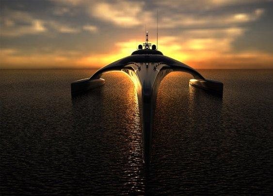 Adastra Yacht | Uncrate