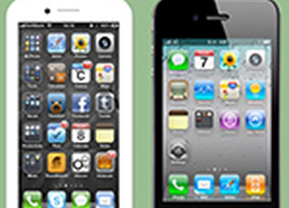 An iPhone with a 4 inch screen could be the same size as the iPhone 4S