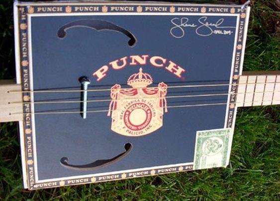 Cigar Box Guitar.... wonder how it sounds?
