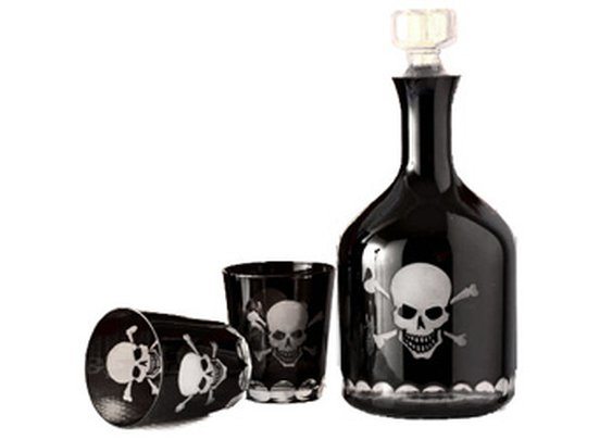 Captain Jack Decanter Set