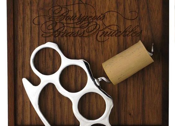 Brass Knuckle Bottle Opener