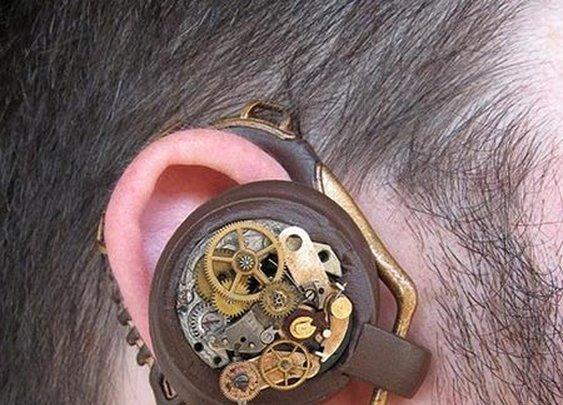 Steampunk Bluetooth Headset