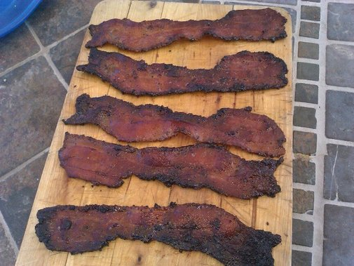 Food Porn- Carmelized Bacon