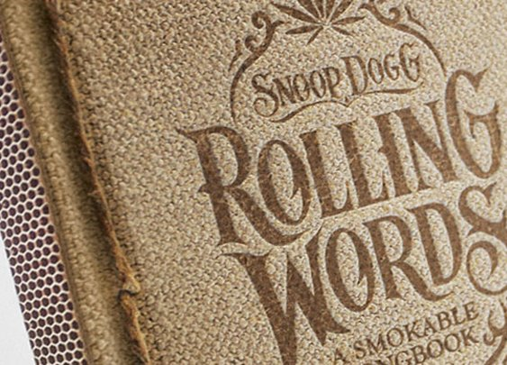 Rolling Words: Snoop Dogg's Smokable Book