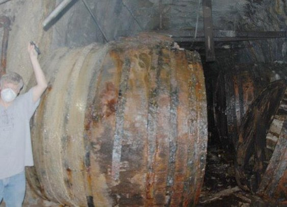 Penn Brewery team discovers giant barrels in nearby cave | Beerpulse.com