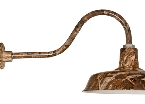 "Goodrich™ Grizzly Camouflage 16"" Gooseneck Barn Light"