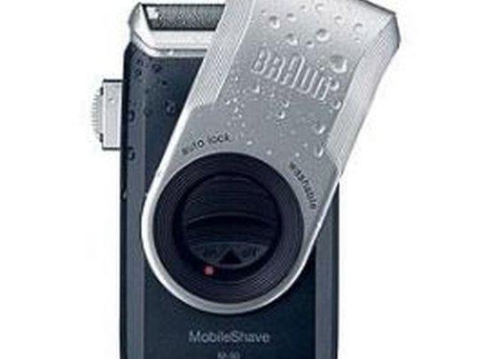 Braun Pocket Go M90 Washable Battery Travel Shaver
