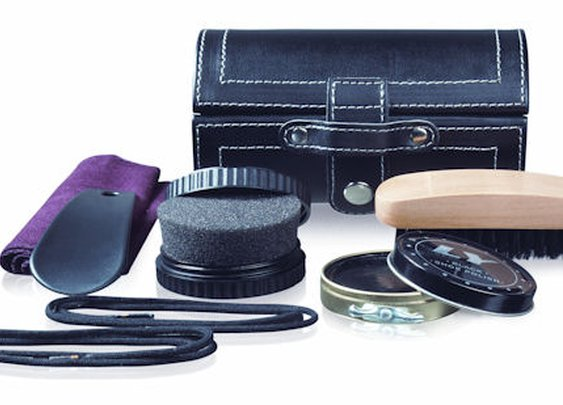 Travel Shoe Shine Kit  - Travel Accessories | Pill Storage Boxes | Travel Kits