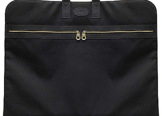 Mulberry Henry Nylon and Leather Suit Carrier - John Lewis