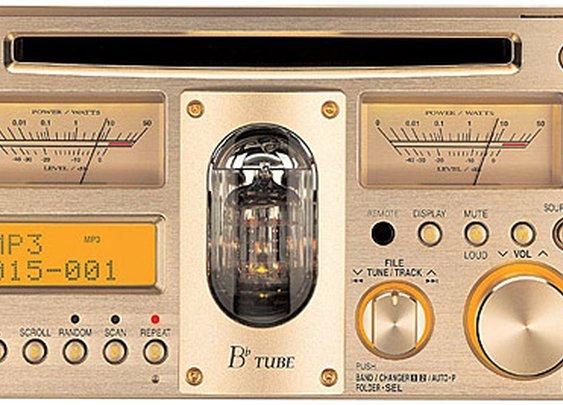 Panasonic CQ-TX5500D Vacuum Tube Car Stereo | Uncrate