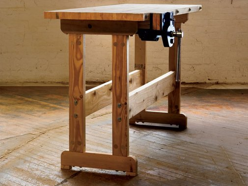 Build your own Wooden Workbench