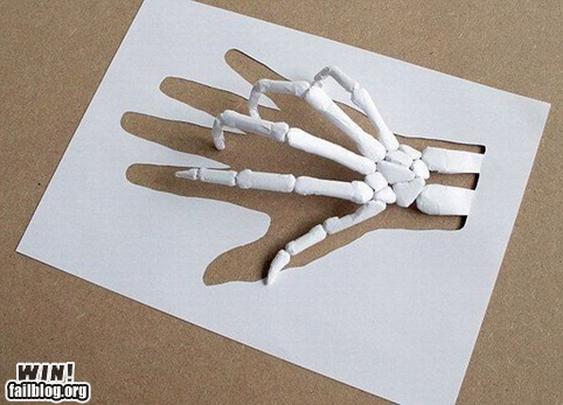 Paper Hand WIN