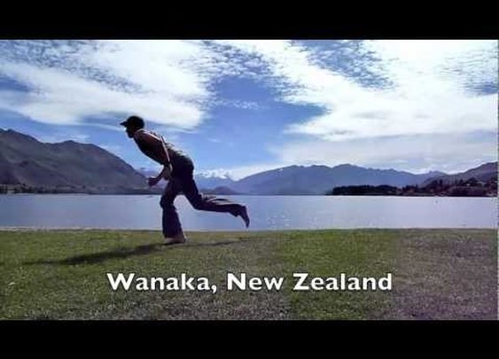 Exercising Around the World by Steve Kamb