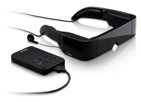 Epson Moverio™ BT-100 Wearable Display